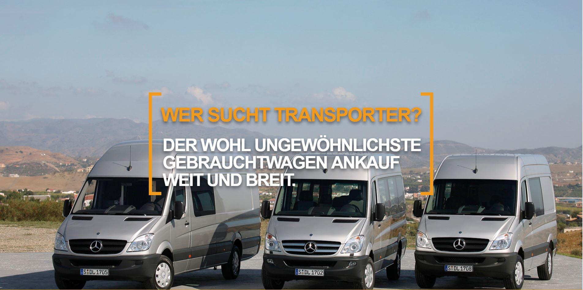 Wer sucht transporter